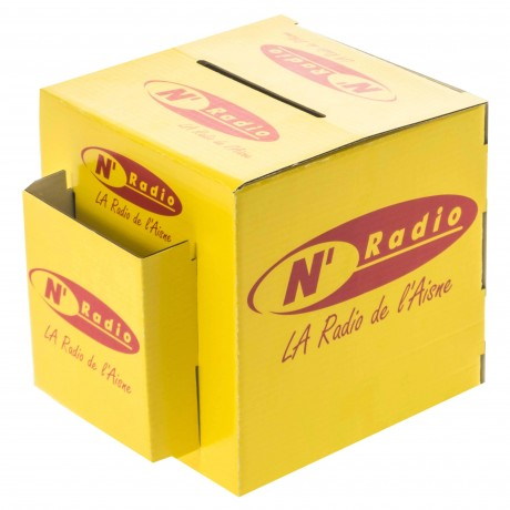 Urnes en carton personnalisées