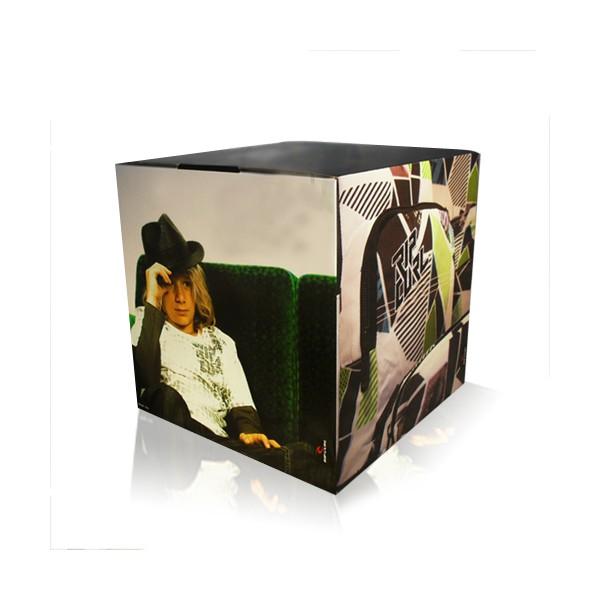 cube carton personnalis 3 formats disponibles. Black Bedroom Furniture Sets. Home Design Ideas