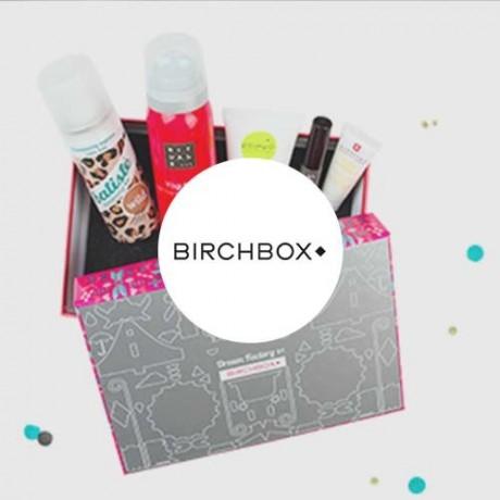 3 mois d'abonnement Birchbox