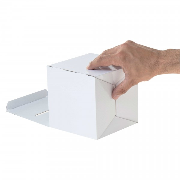 urne en carton blanc sans impression pour jeux concours prix en ligne. Black Bedroom Furniture Sets. Home Design Ideas