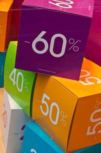 Cubes carton soldes
