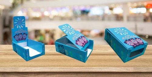 boite présentoir carton