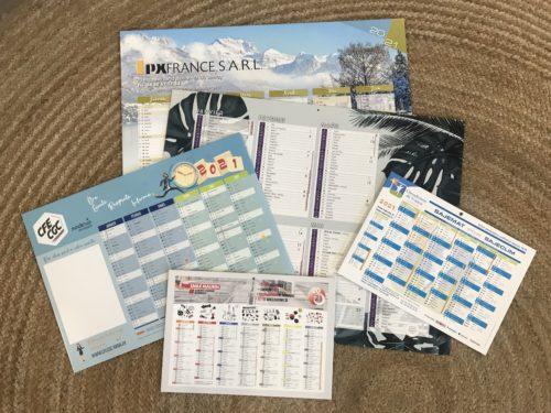 Fabriquer un calendrier bancaire pour vos clients   PLV carton