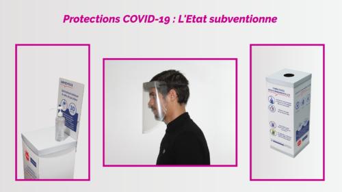 Protections COVID-19 subventionnés