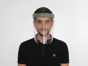 Visière de protection anti-projection