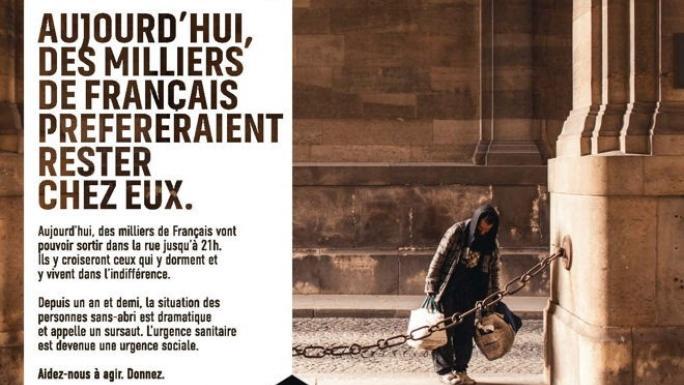 Fondation Abbé PIERRE - Campagne publicitaire
